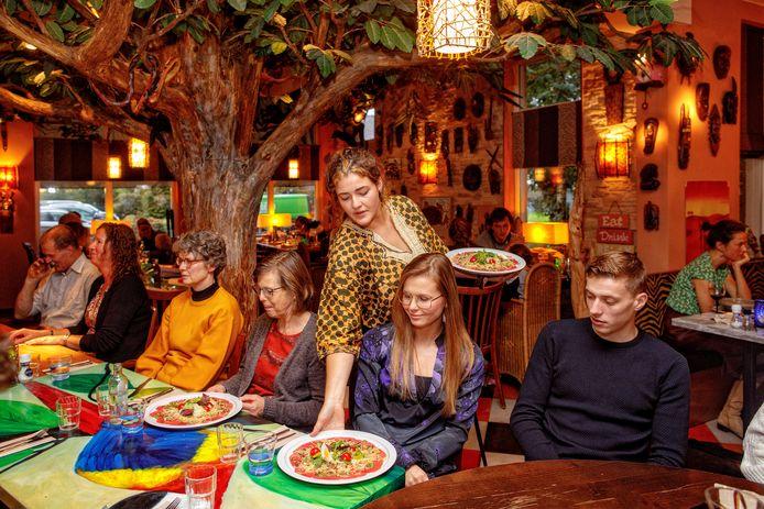 Afrikaans restaurant Aap